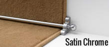 Satin Chrome Stair Rods | Buy Now